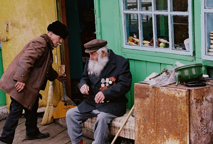 Фото деревенских людей